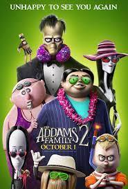 Addams Family 2 starts Oct 1